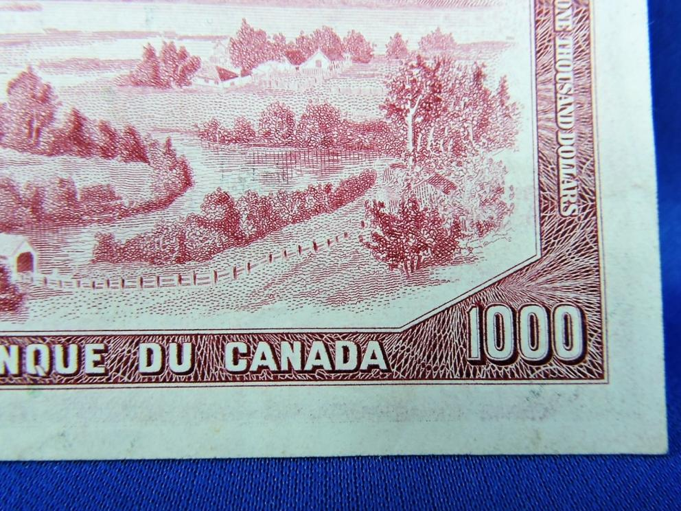 1954 $1000 Bank of Canada