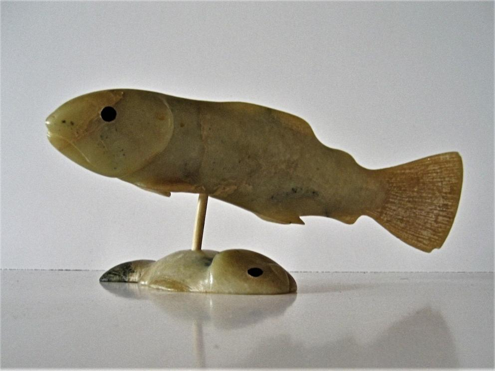 Arctic Char Carving Sold Outright @ Auction