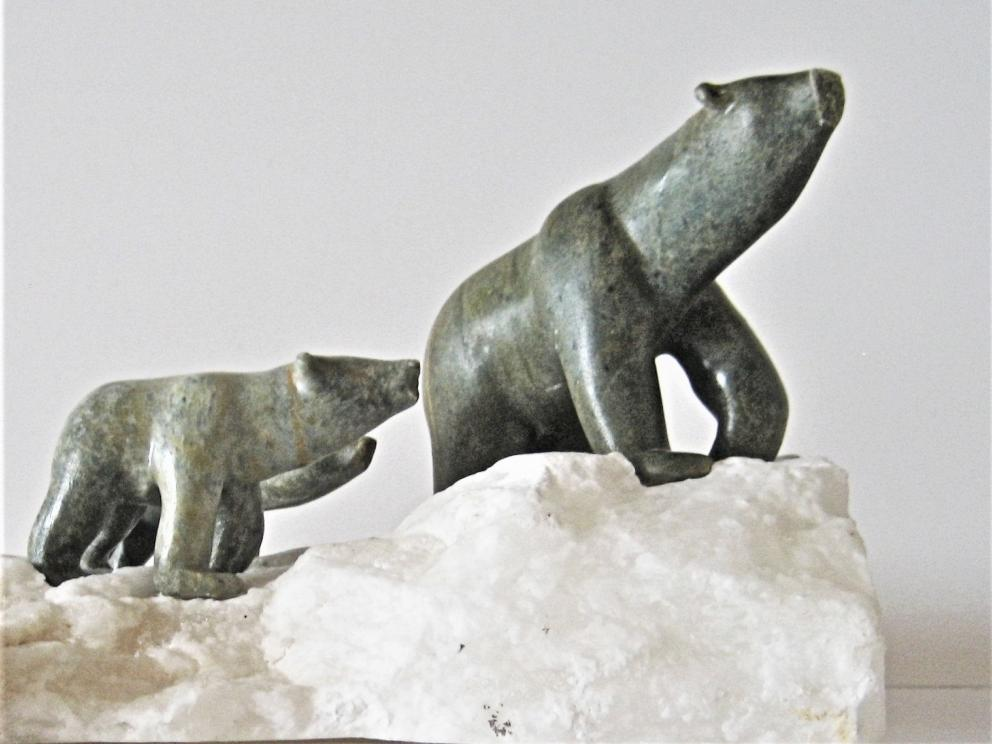 Polar Bear Carving Sold Outright @ Auction