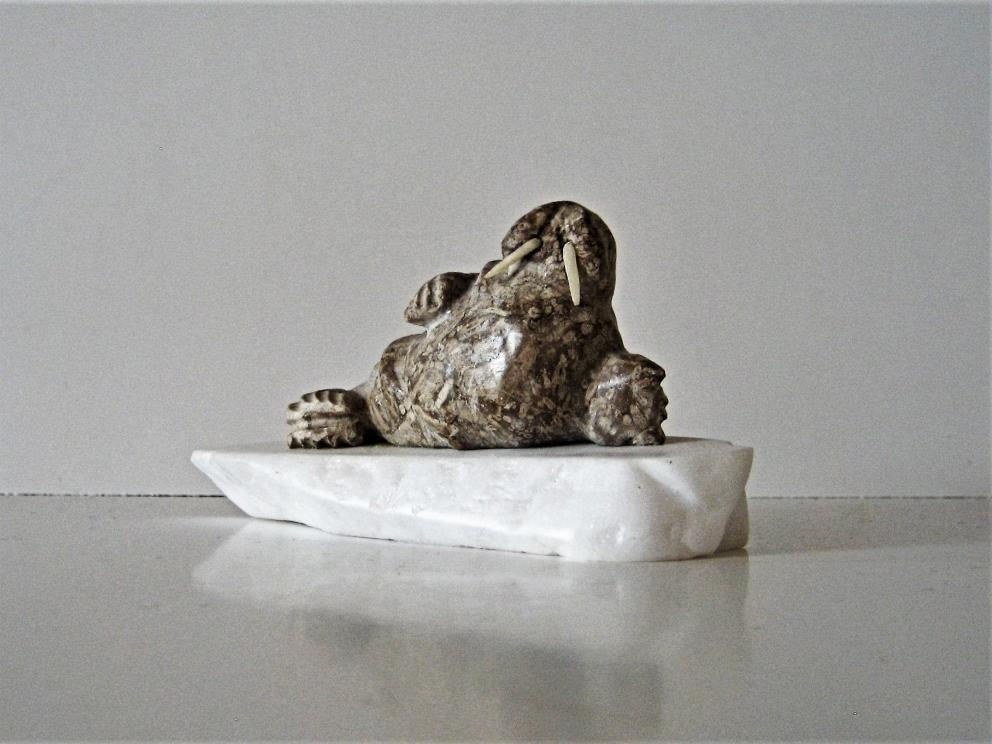 Walrus Carving Sold Outright @ Auction