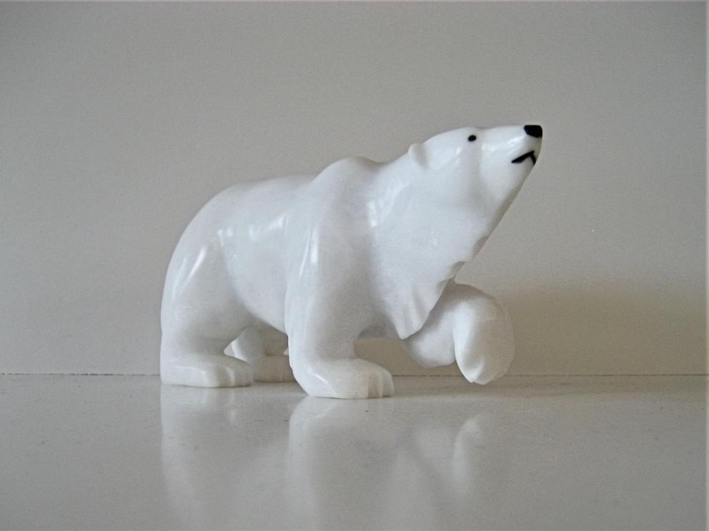 Stalking Polar Bear .. The Master