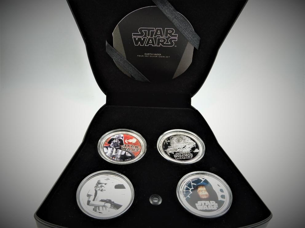 Star Wars Coins New Zealand Mint