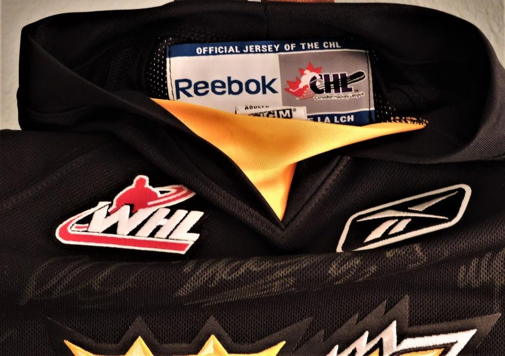 Brandon Wheat Kings Junior Hockey Canada Jersey Auction