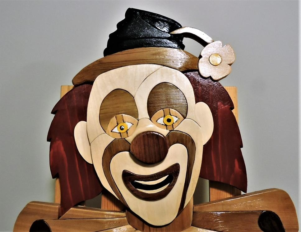 The Clown by Kirkpatrick Intarisa Woodworking