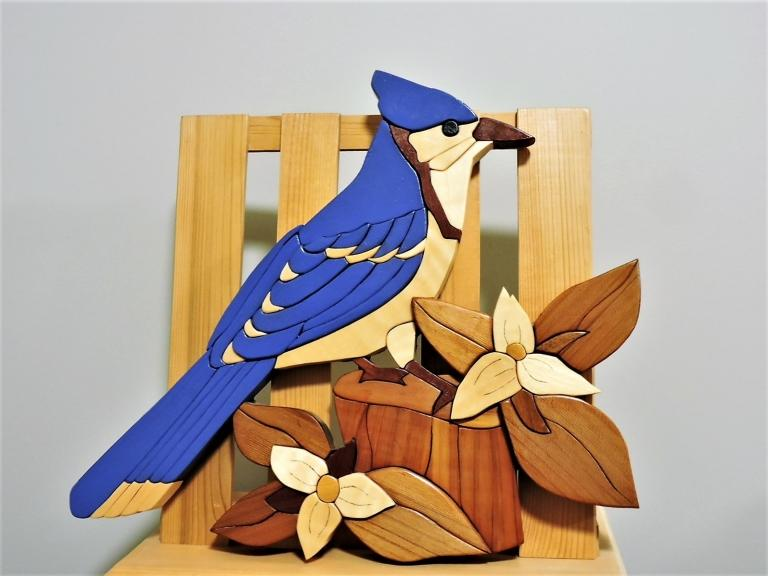 The Blue Bird KIRKPATRICK INTARSIA WOODWORKING
