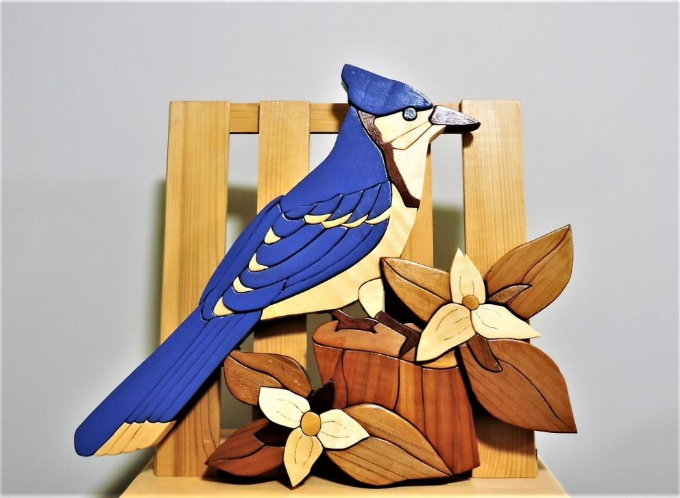 The Blue Bird KIRKPATRICK INTARSIA WOODWORKING
