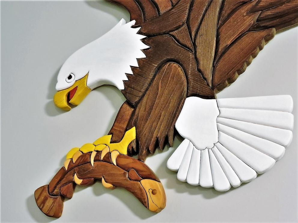 INTARSIA WOODWORKING THE EAGLE