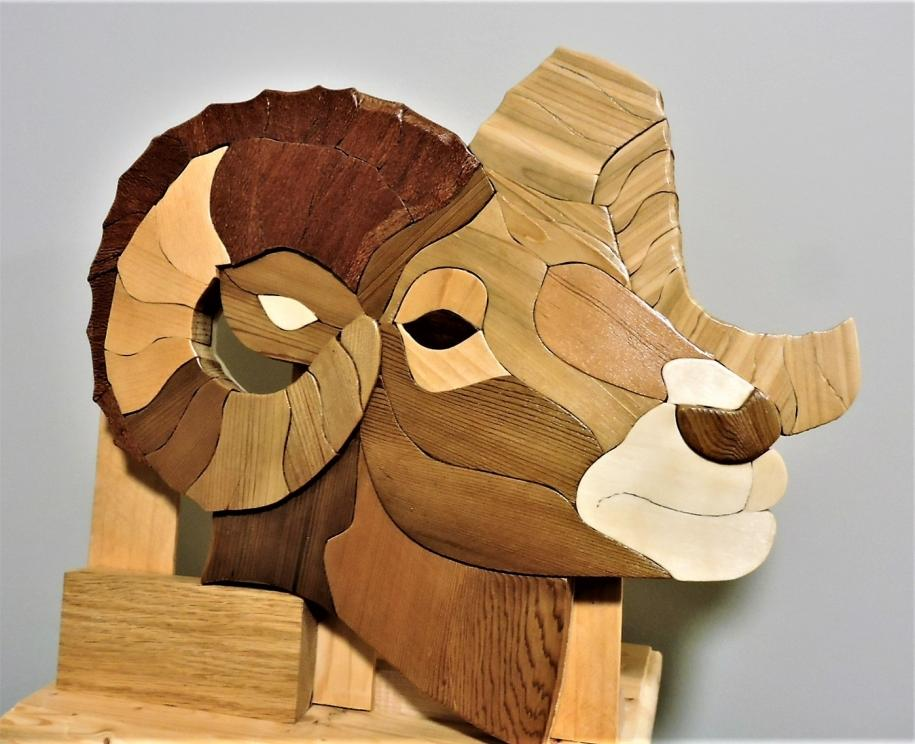 Kirkpatrick Intarsia Woodworking The Ram