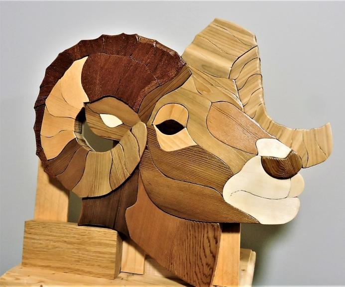 Kirkpatrick Intarsia Woodworking The Ram
