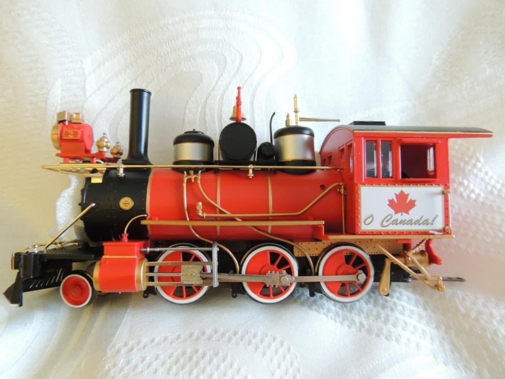 O CANADA  TRAIN
