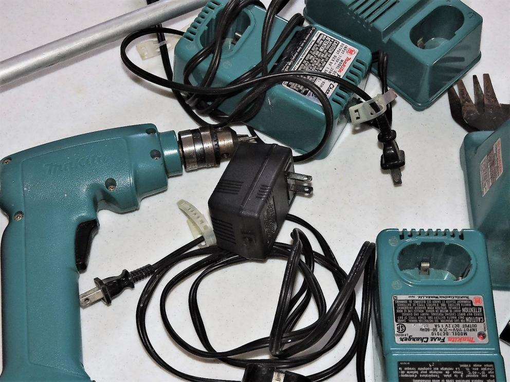 MAKITA OLD SCHOOL BATTERY OPERATED TOOLS