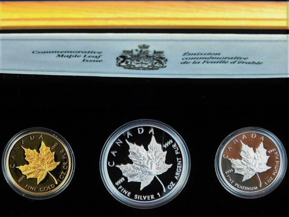 1989 MAPLE LEAF 1989 ANNIVERSARY COINS