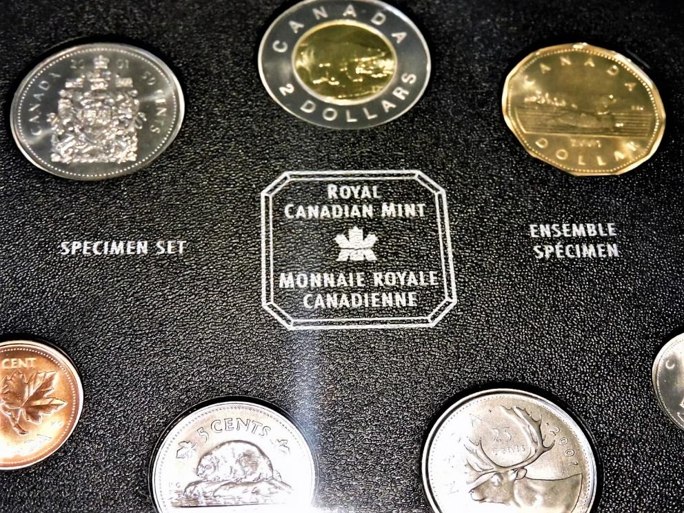 ROYAL CANADIAN MINT SPECIMEN COINAGE