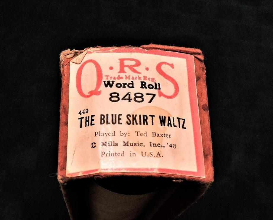PLAYER PIANO WORD ROLLS OF FAMOUS MUSIC