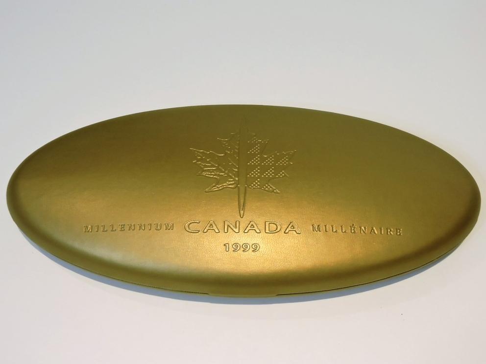 Mellennium Silver Coins of Canada 1999