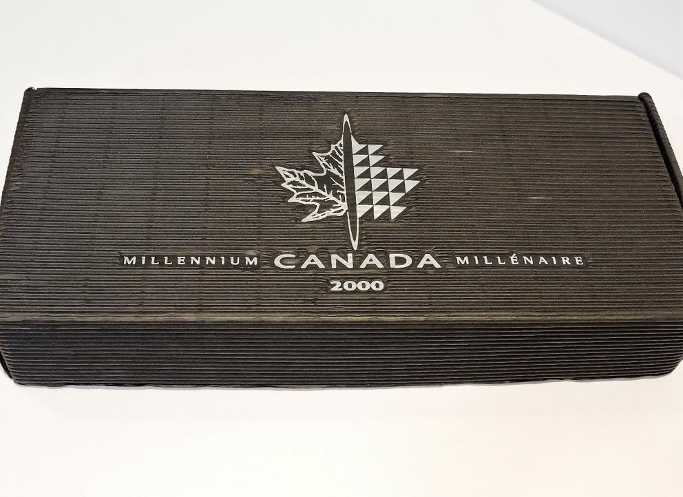 MILLENNIUM SILVER COINS OF CANADA YEAR 2000