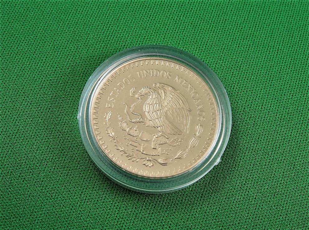 BANCO DE MEXICO OFFICIAL MEXICO 86 FOUR COIN COLLECTION