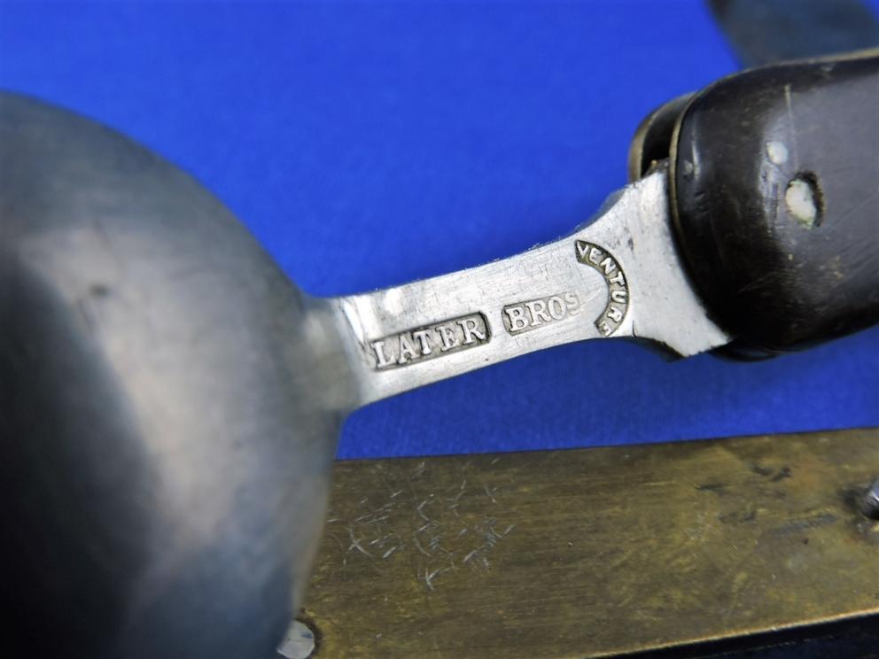 SLATER BROS ENGLAND HOBO VINTAGE MILITARY KNIFE