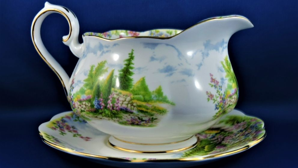 """Kentish Rockery"" - Royal Albert China"
