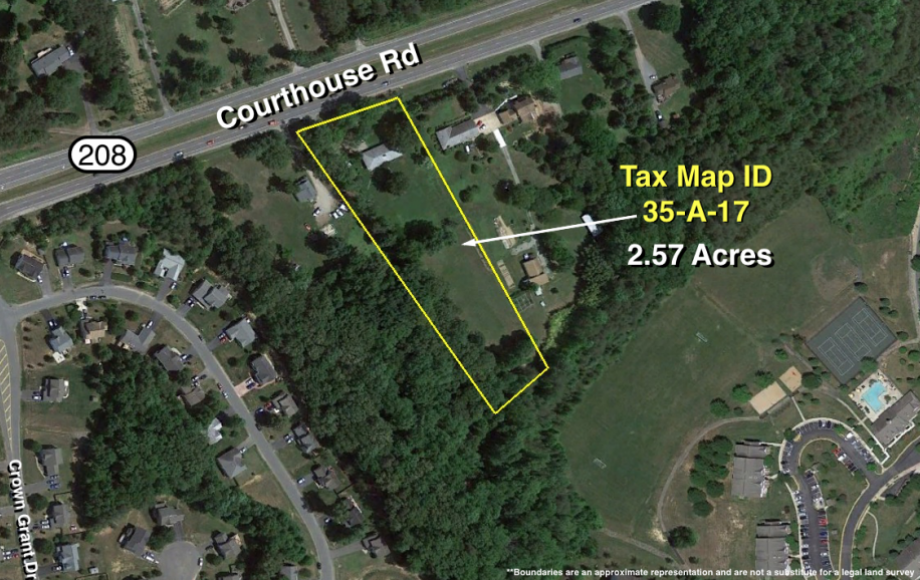 10001 courthouse rd - 2.5acres  detail