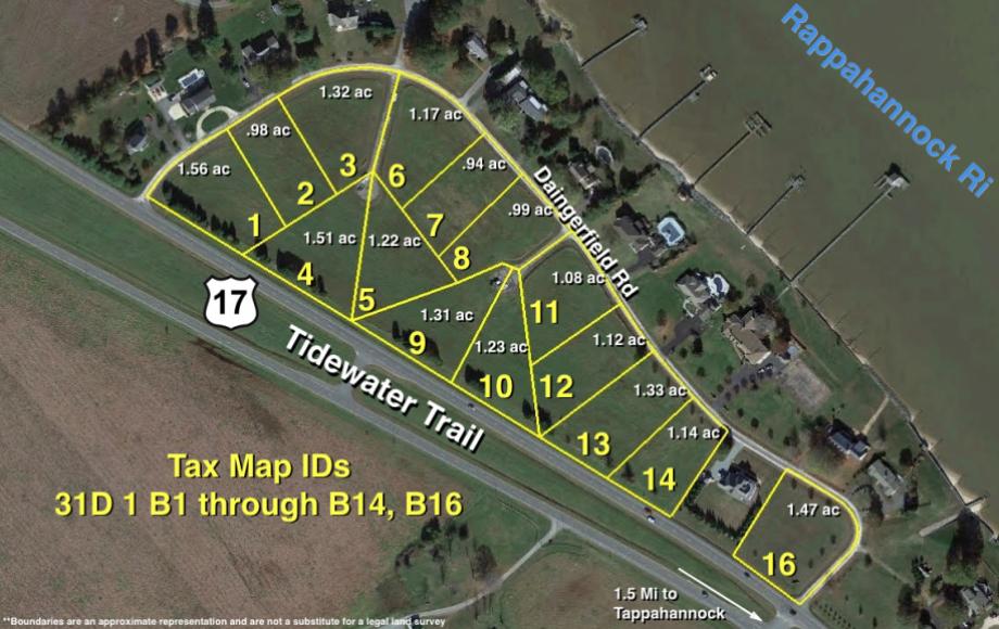 Daingerfield subdivision  detail